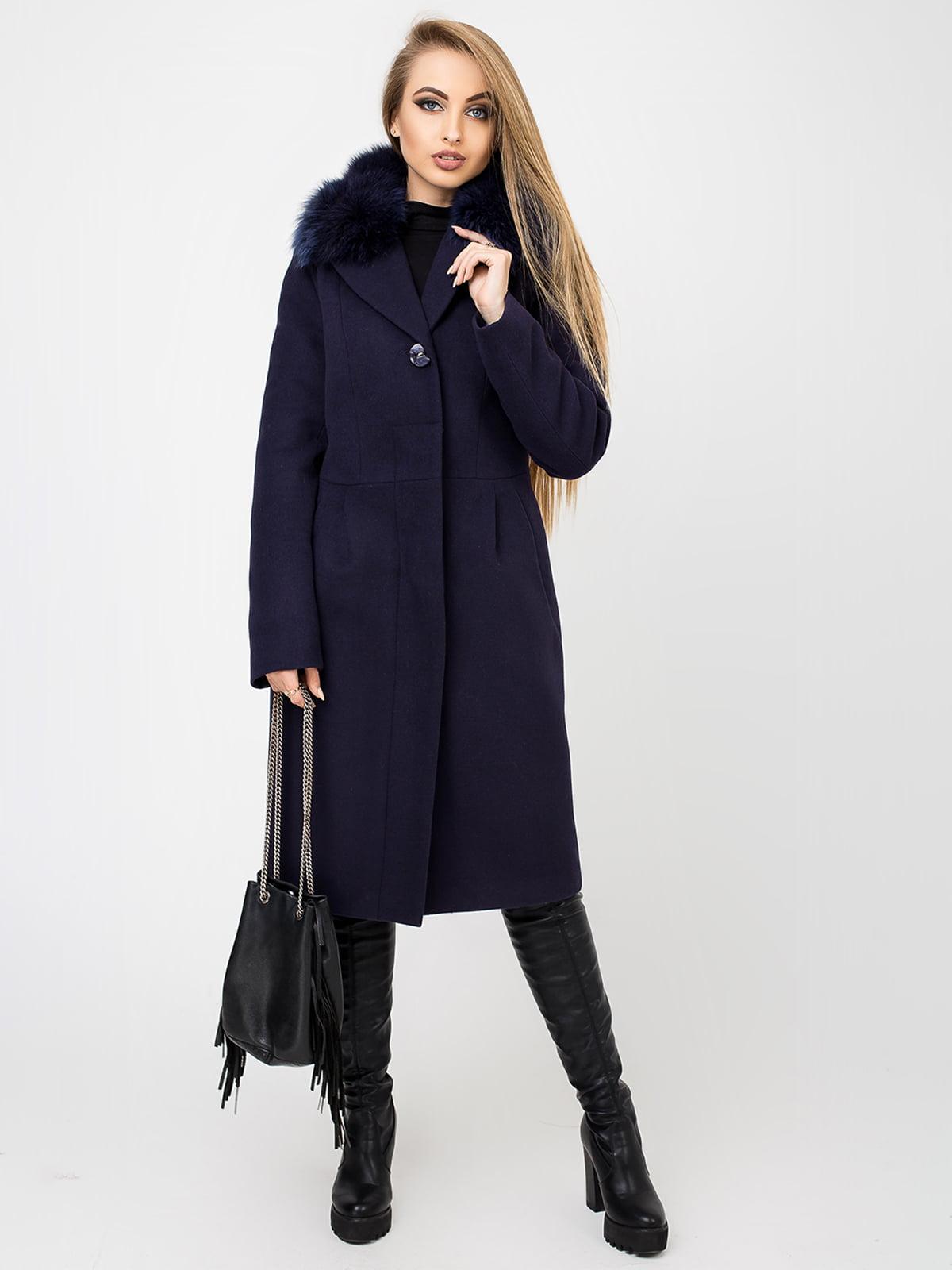 Пальто ожинового кольору | 4761834