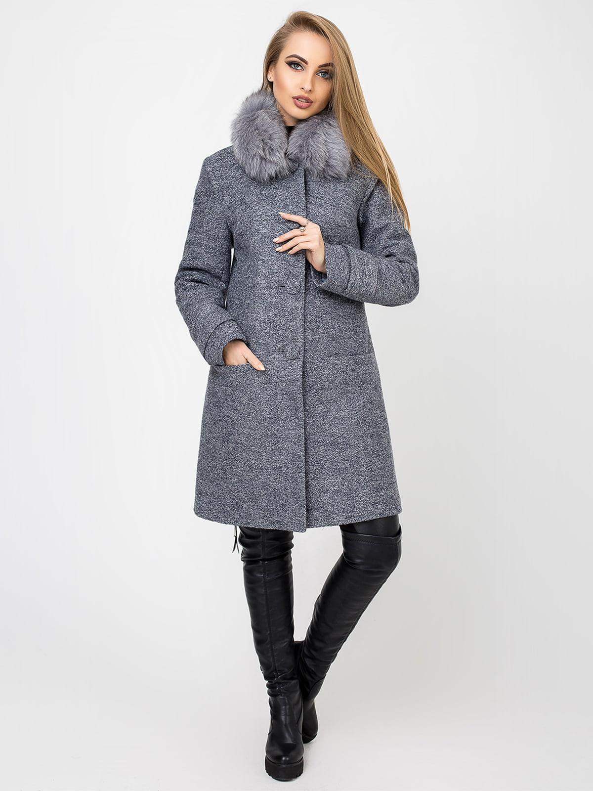 Пальто сіре | 4761836
