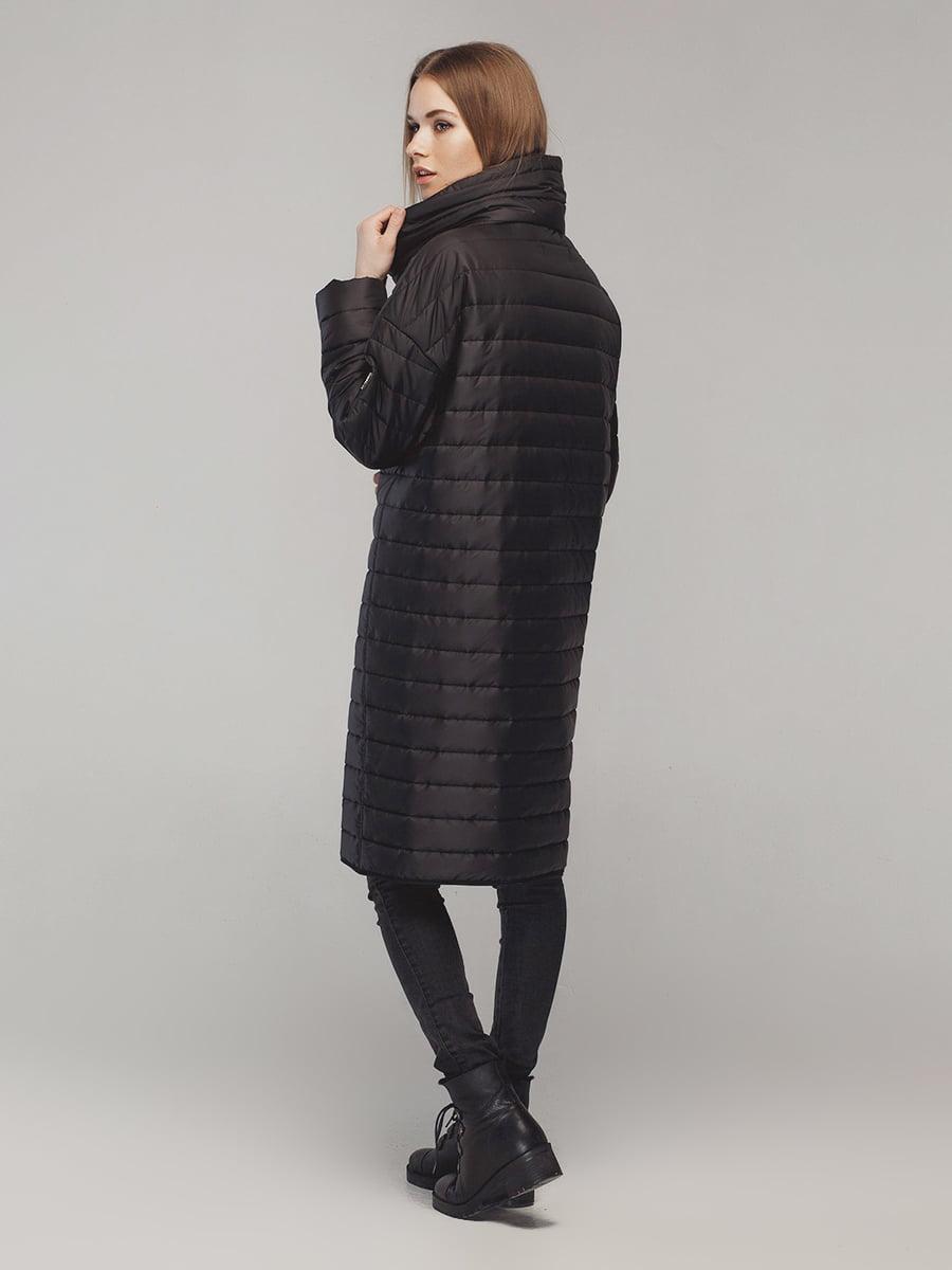 Пальто черное | 4721020 | фото 2