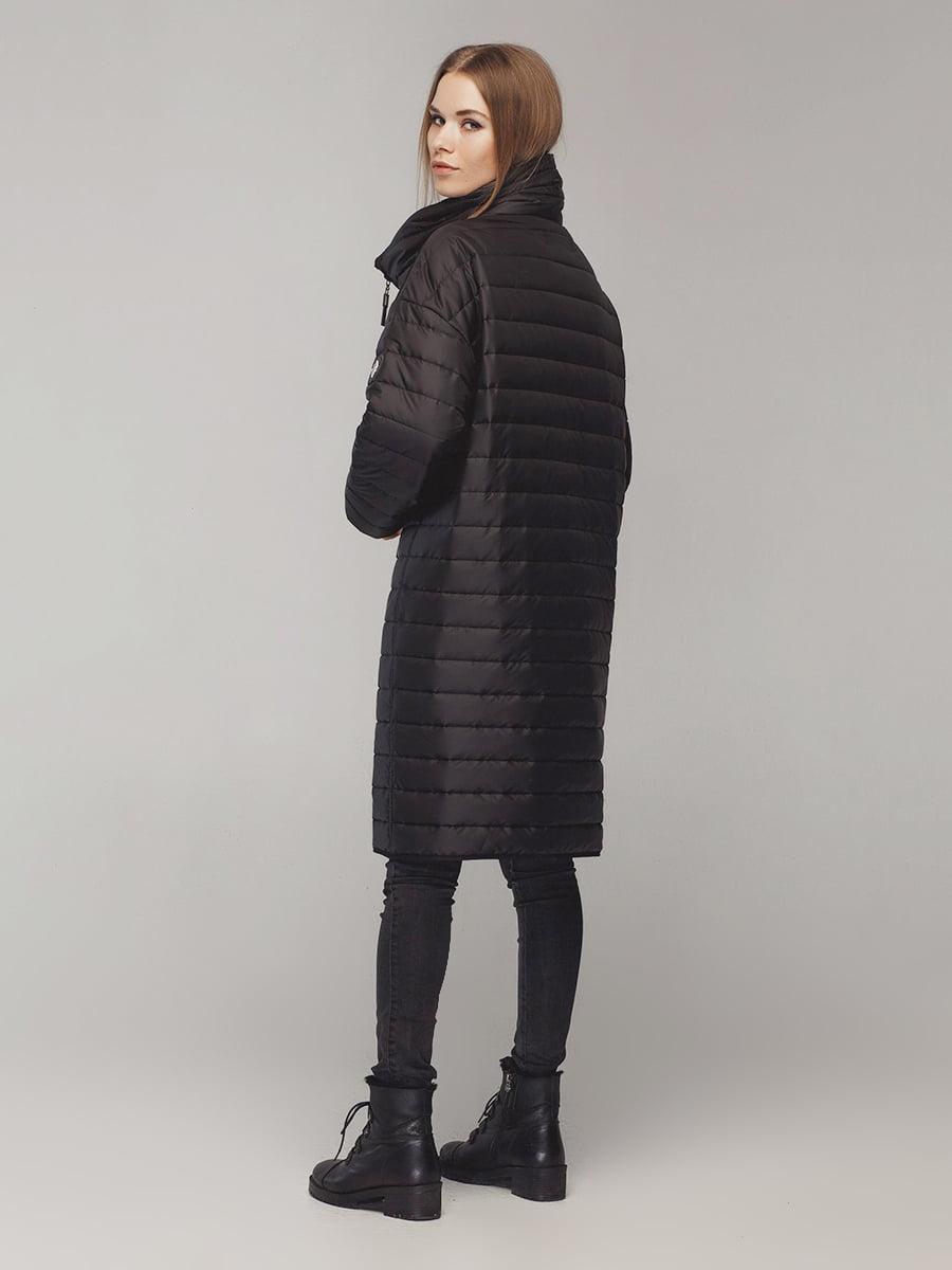 Пальто черное | 4721020 | фото 3