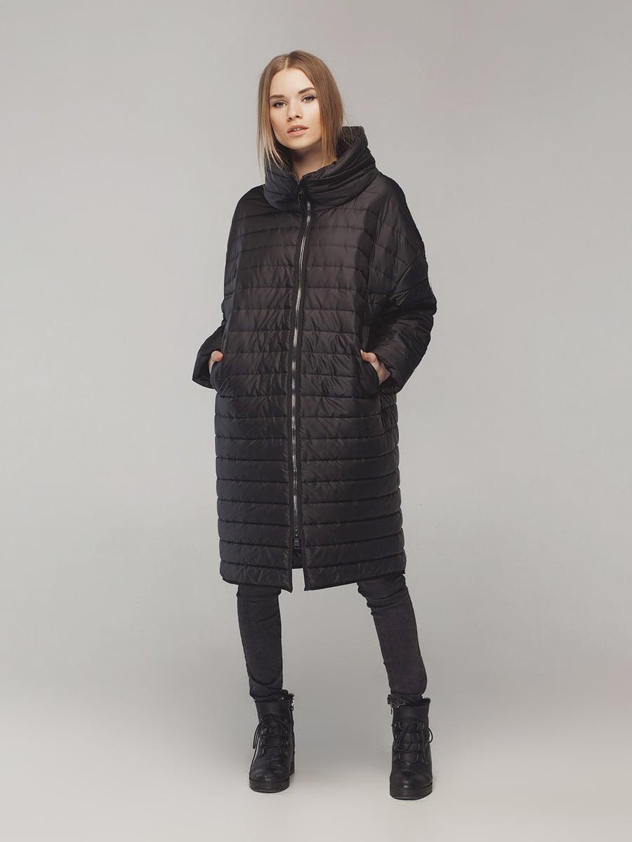 Пальто черное | 4721020 | фото 4
