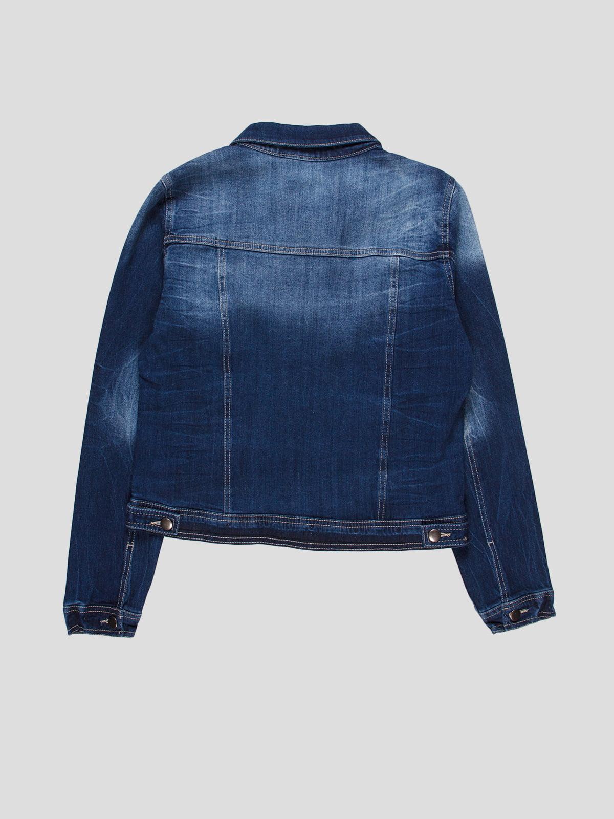 Куртка синяя   4718758   фото 2
