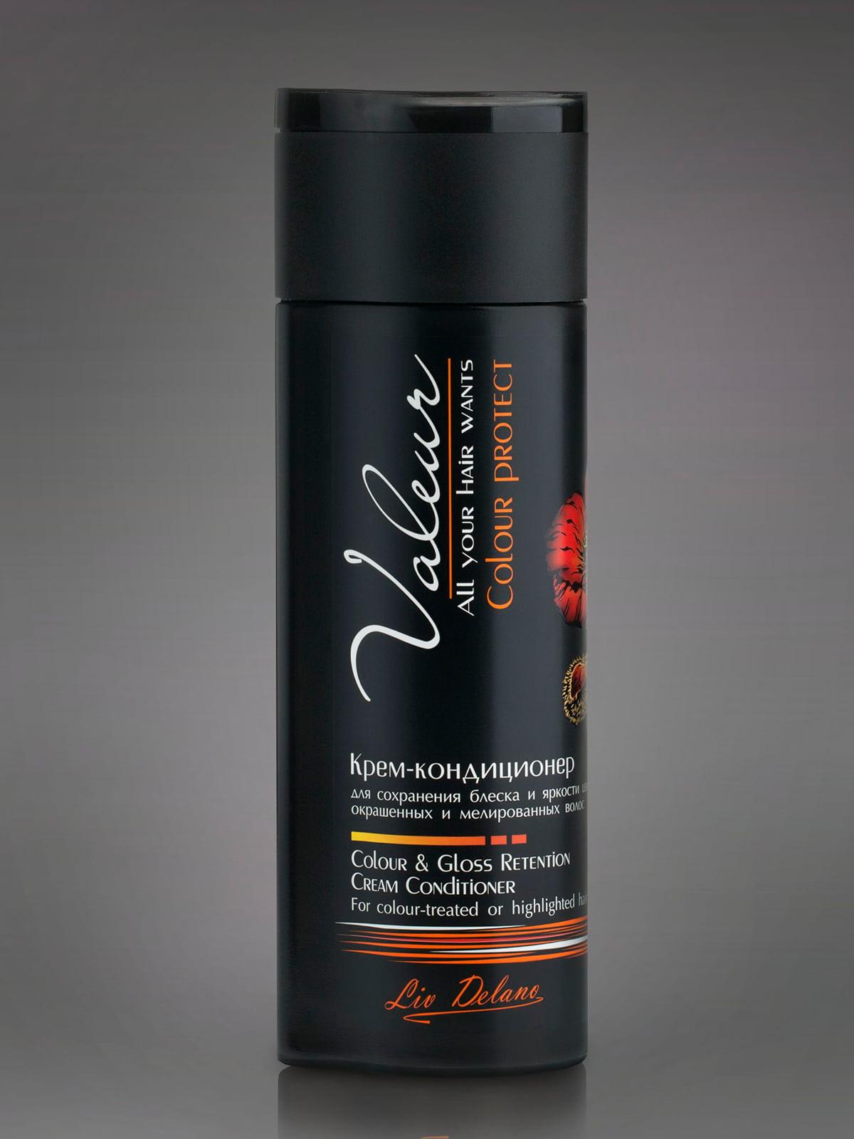 Крем-кондиціонер для збереження блиску і яскравості кольору фарбованого і мелірованого волосся (250 г) | 4763572
