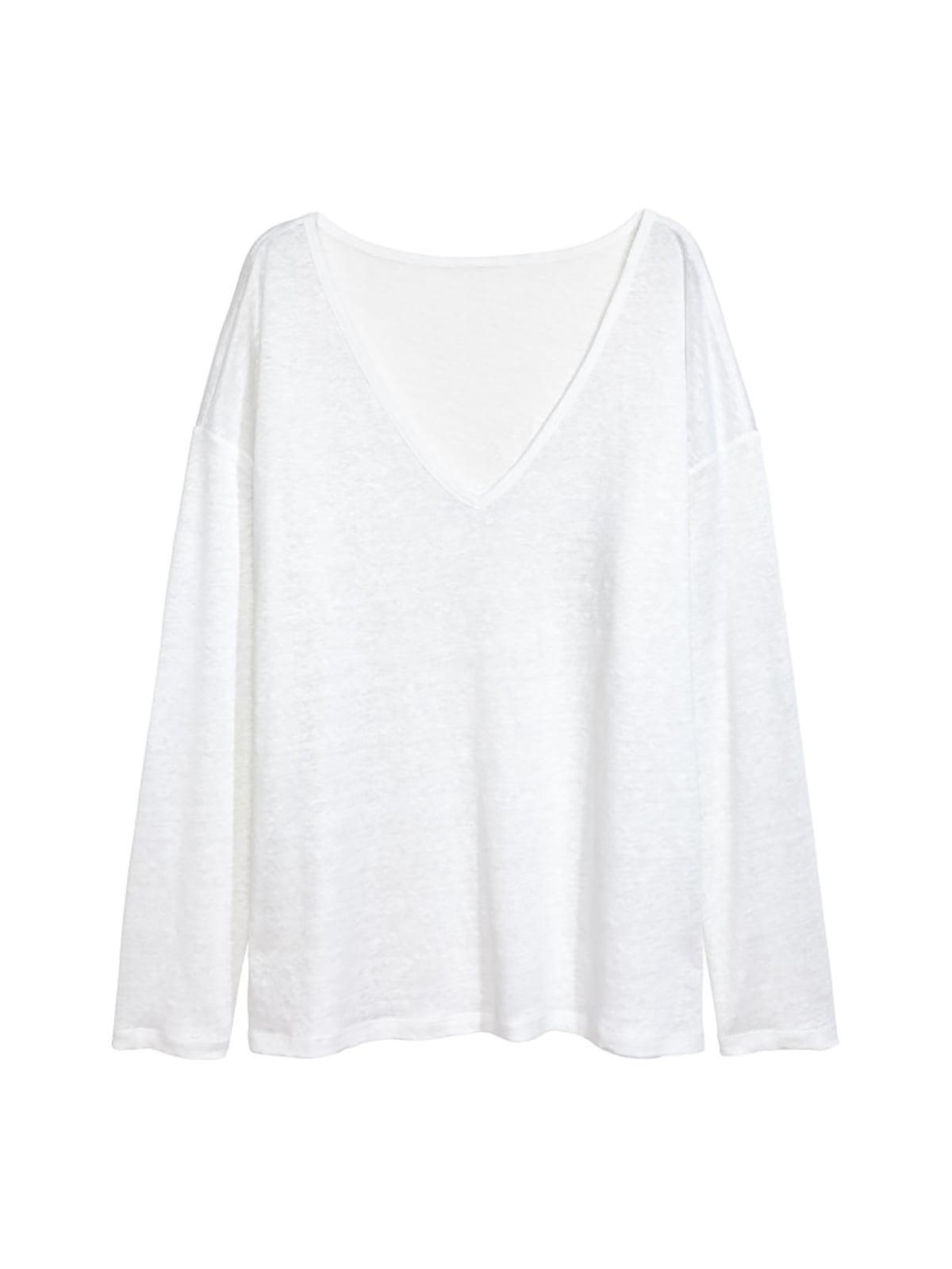 Пуловер білий | 4763731