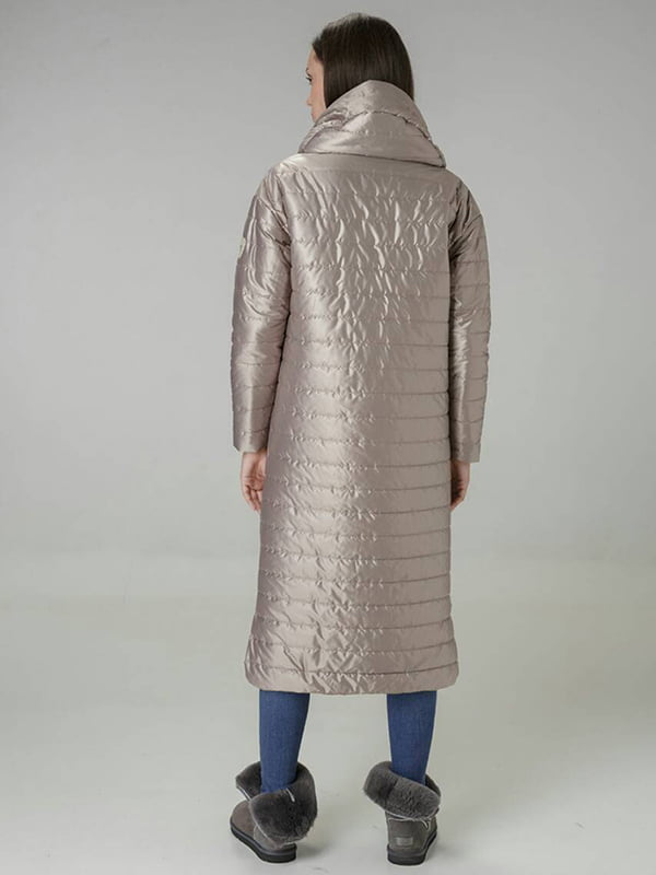 Пальто бежевое | 4763005 | фото 2