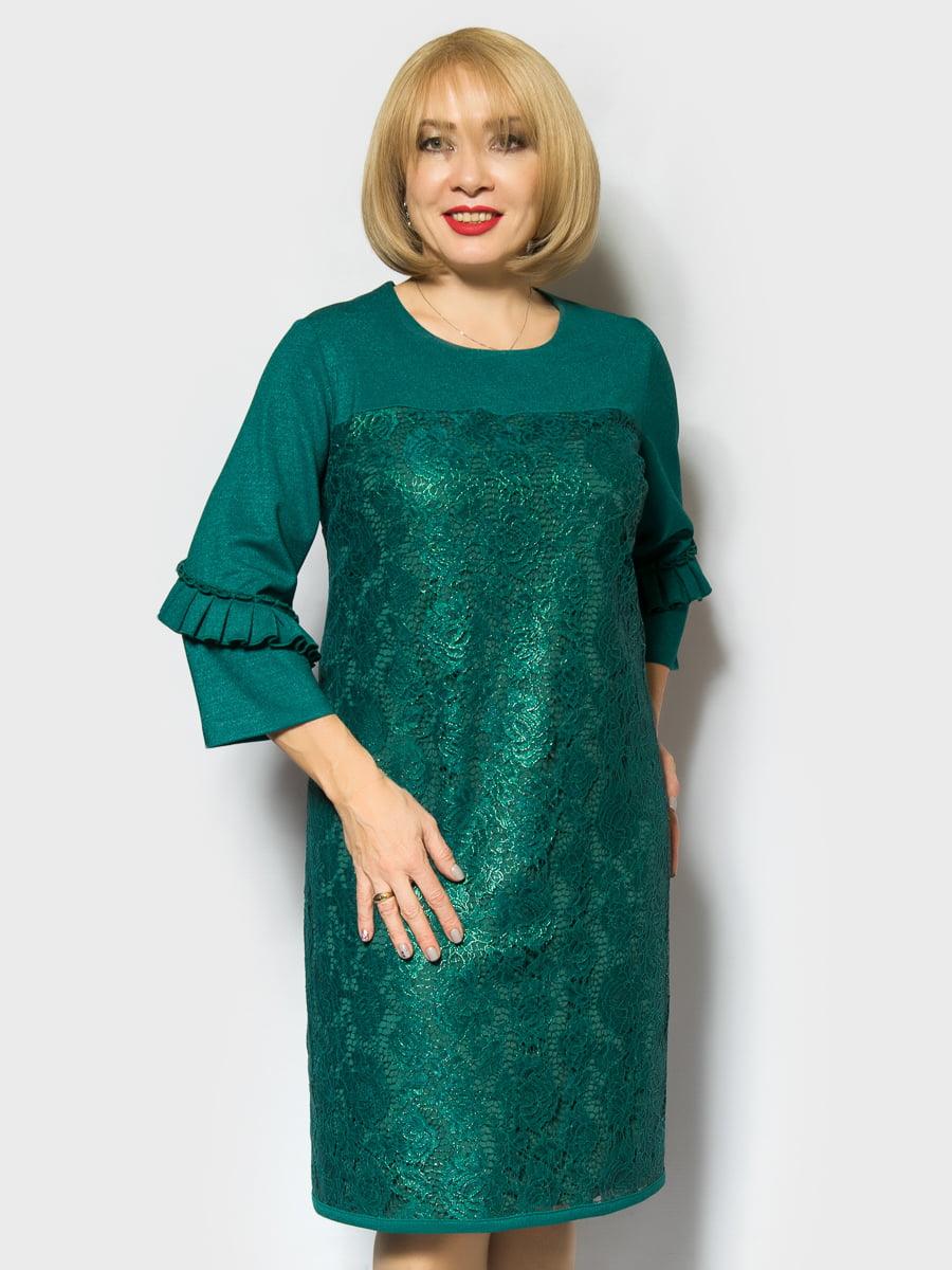 Платье зеленое | 4764043