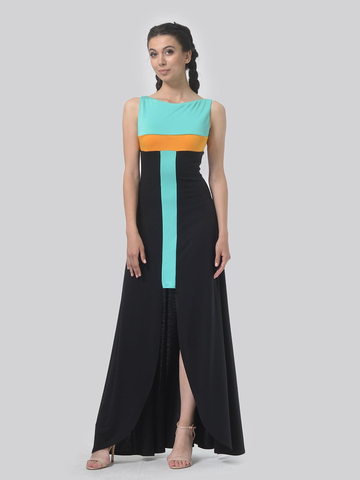 Сукня комбінованого кольору | 4767828
