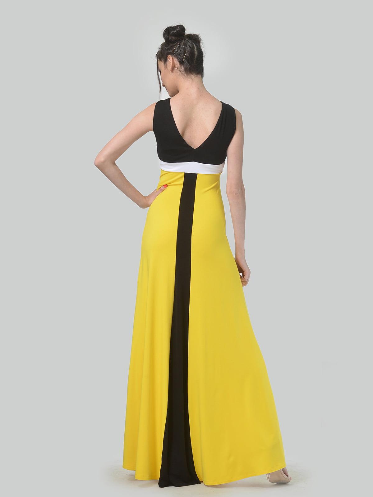 Платье комбинированной расцветки   4767831   фото 2