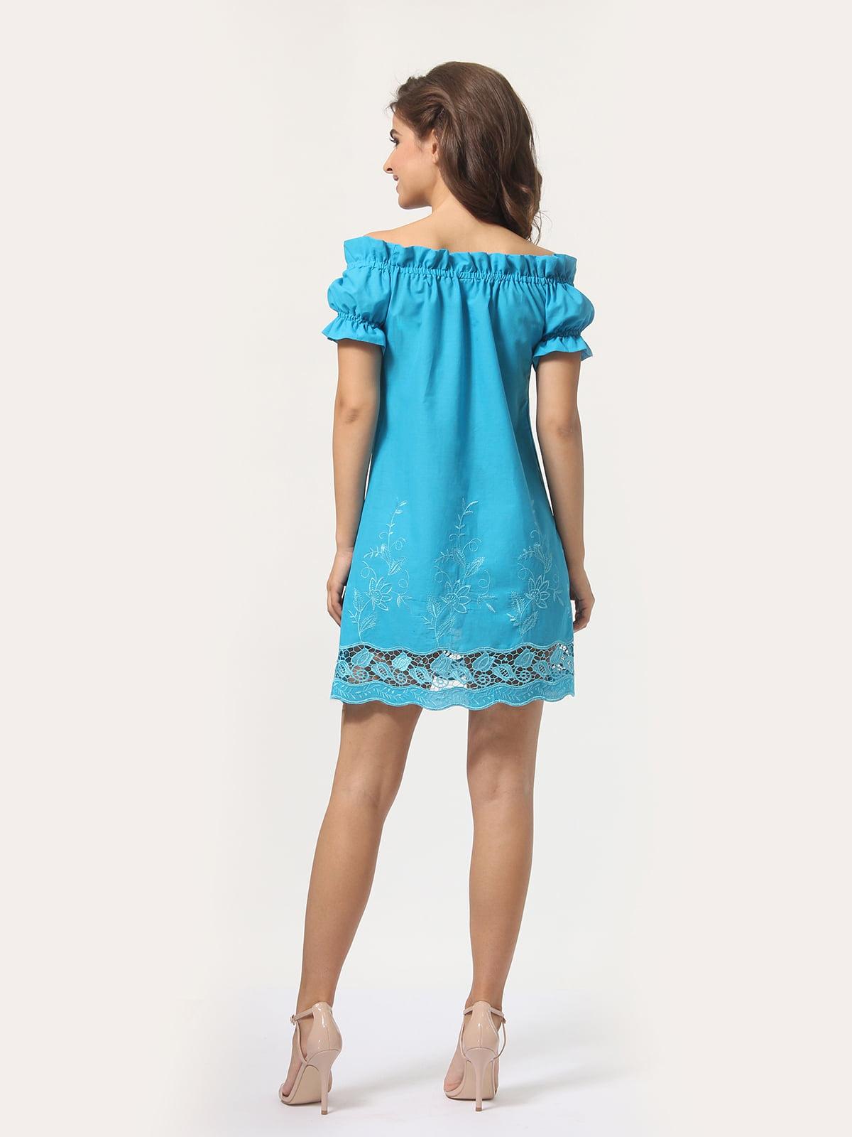 Платье голубое | 4767852 | фото 2