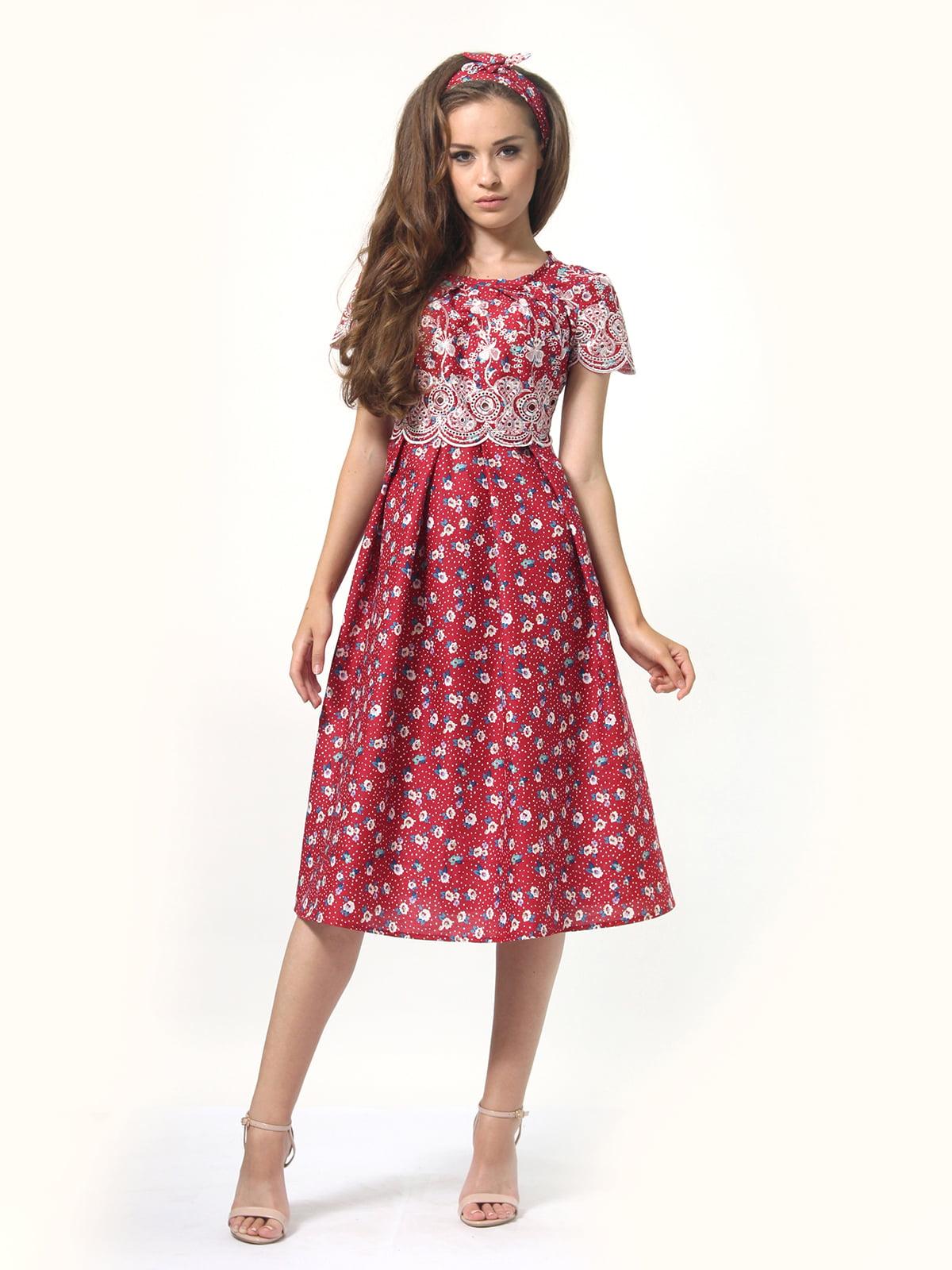 Платье в принт | 4767853
