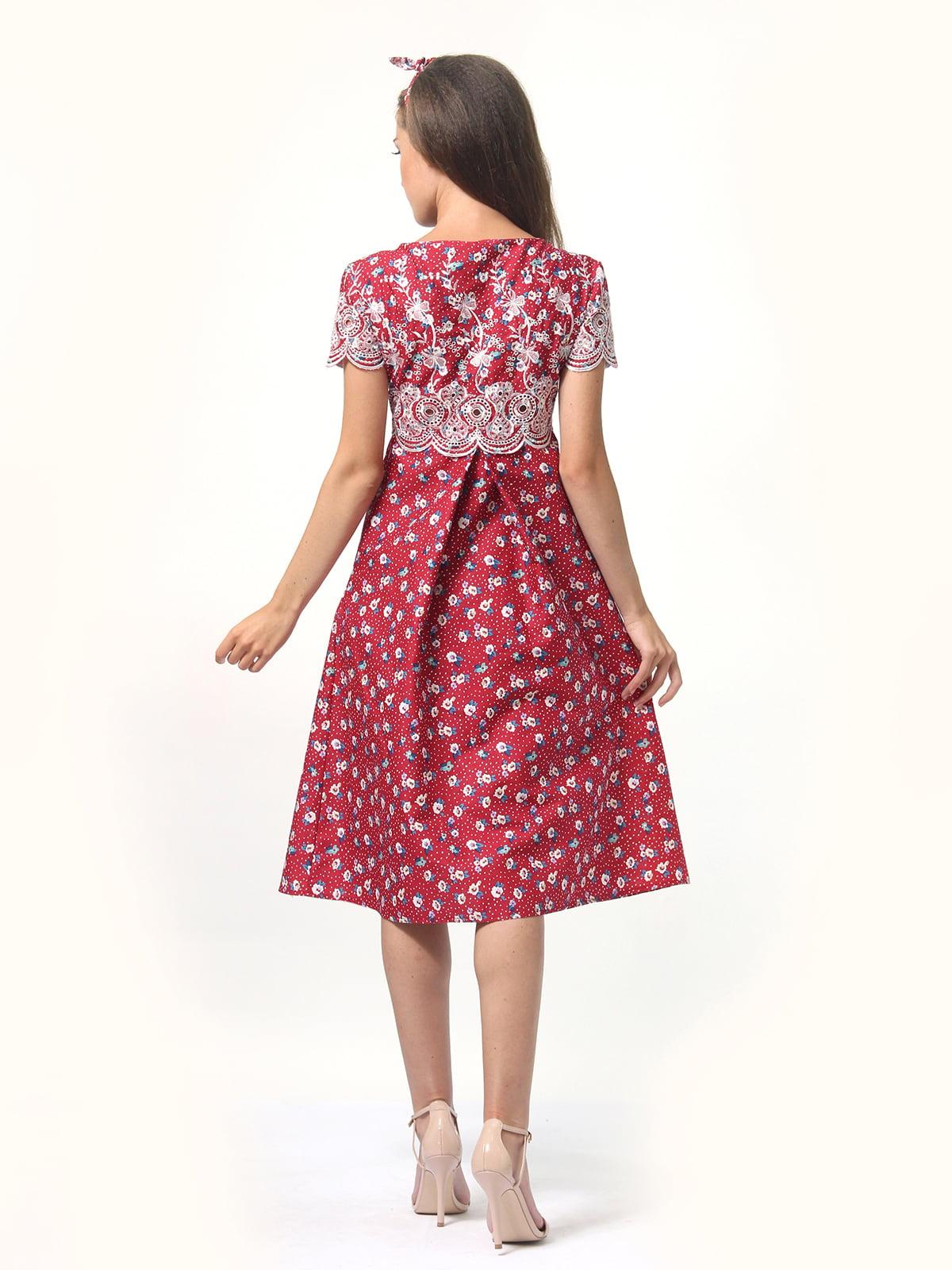 Платье в принт | 4767853 | фото 2
