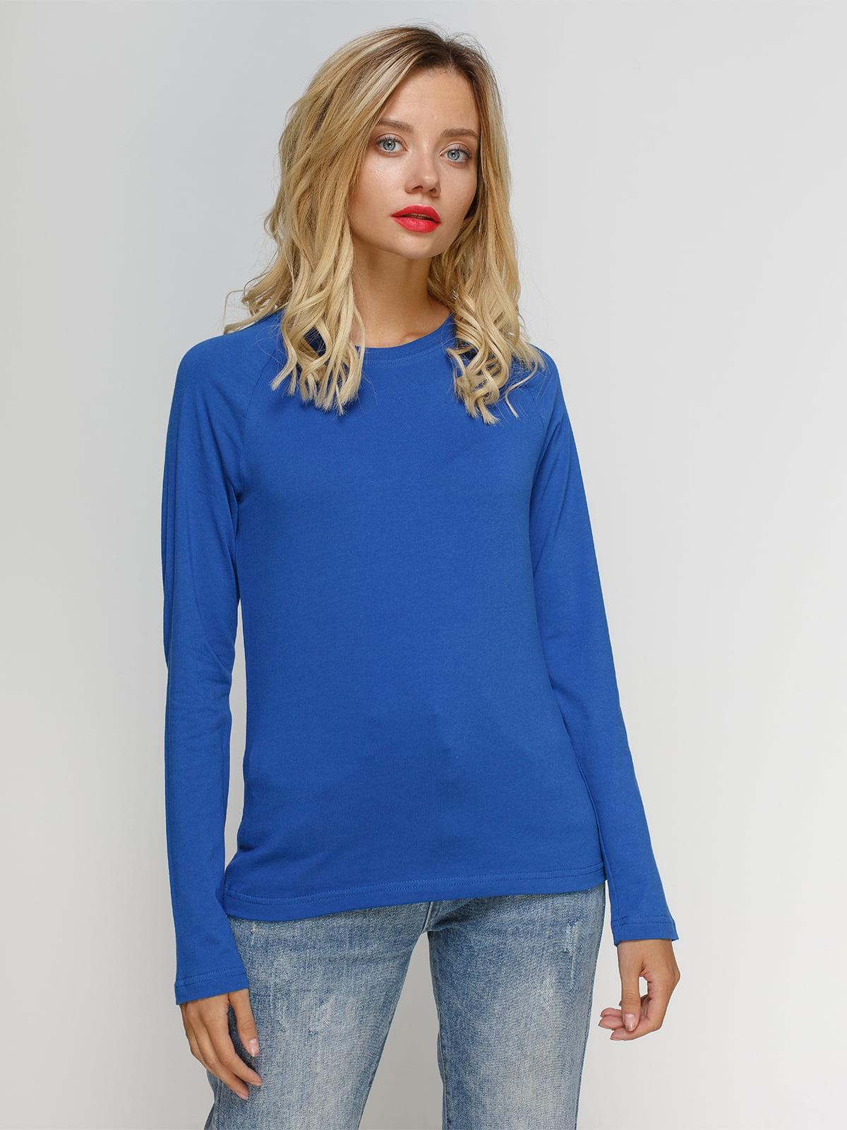 Лонгслив синий | 4768935