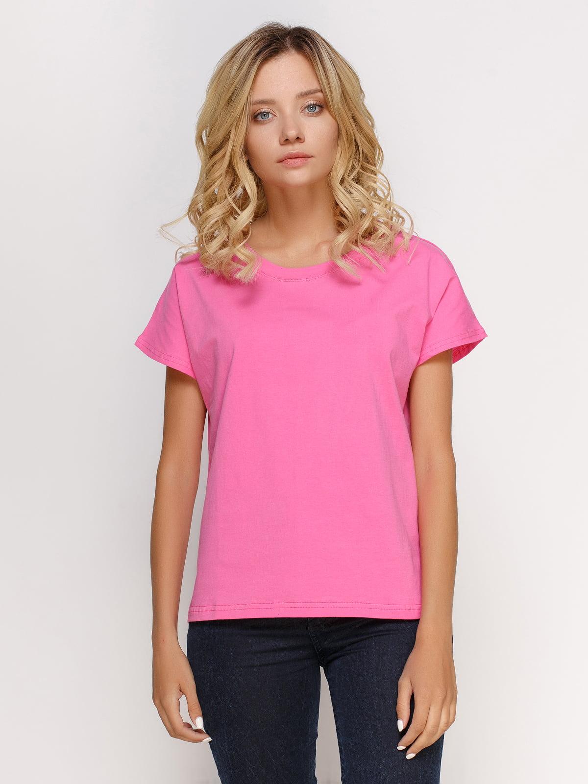 Футболка рожева | 4768964
