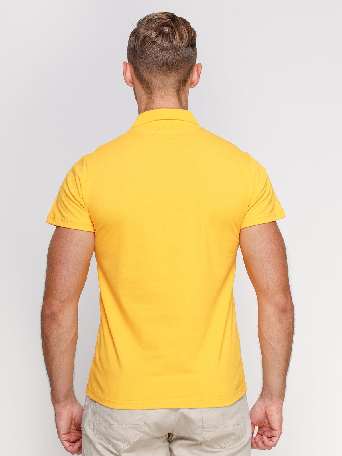 Футболка-поло жовта | 4768981 | фото 2