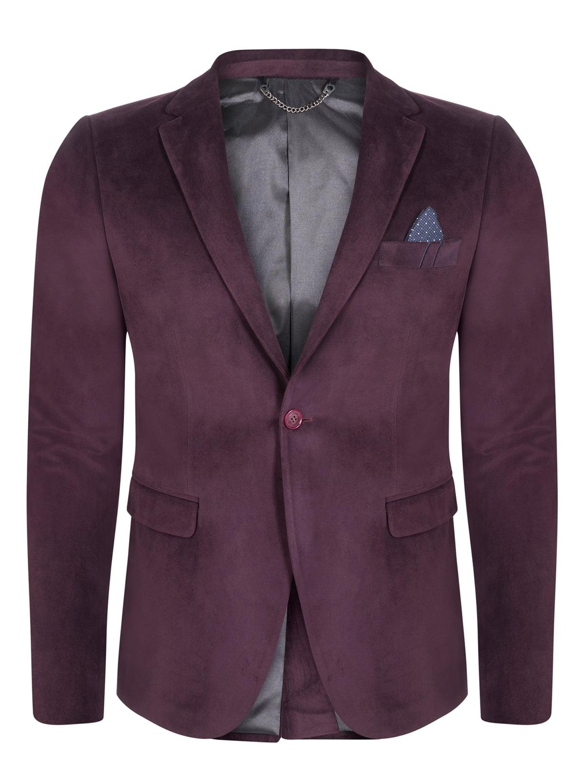 Пиджак бордовый | 4715305