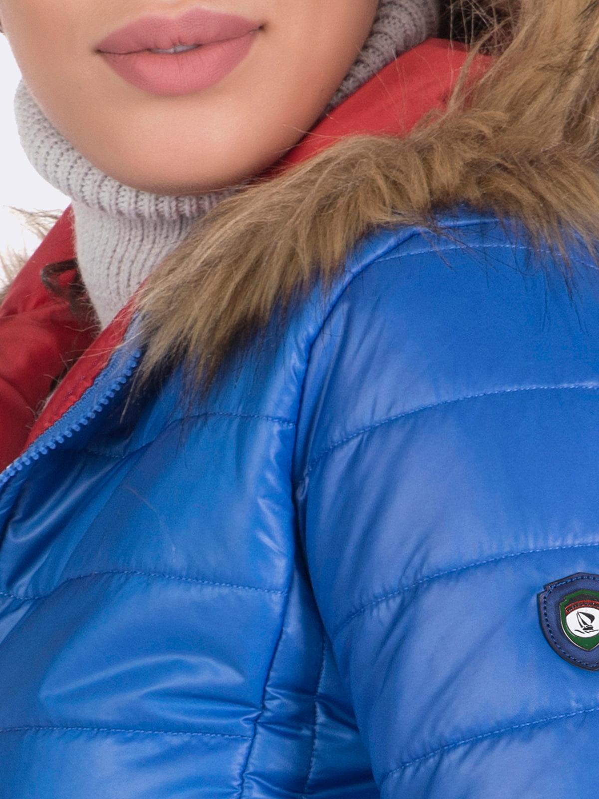 Куртка цвета электрик | 4764634 | фото 3