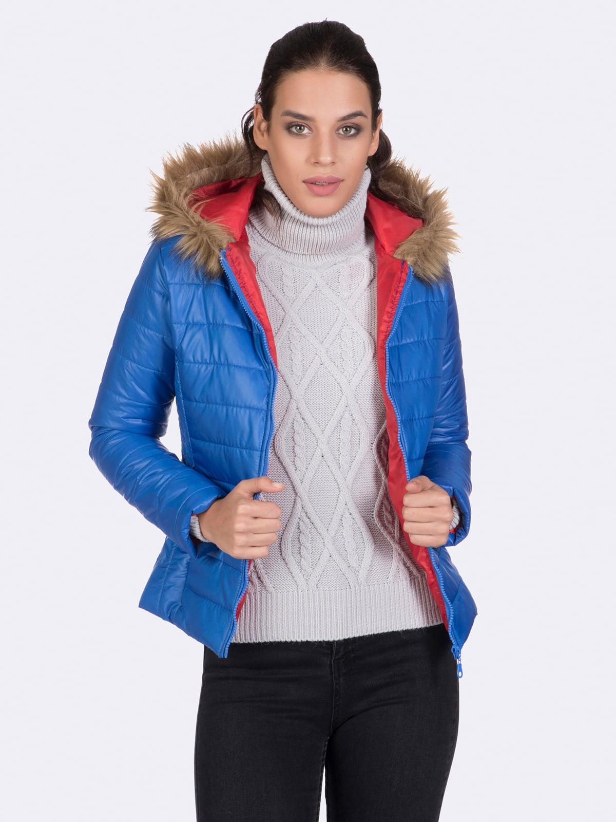 Куртка цвета электрик | 4764634 | фото 5