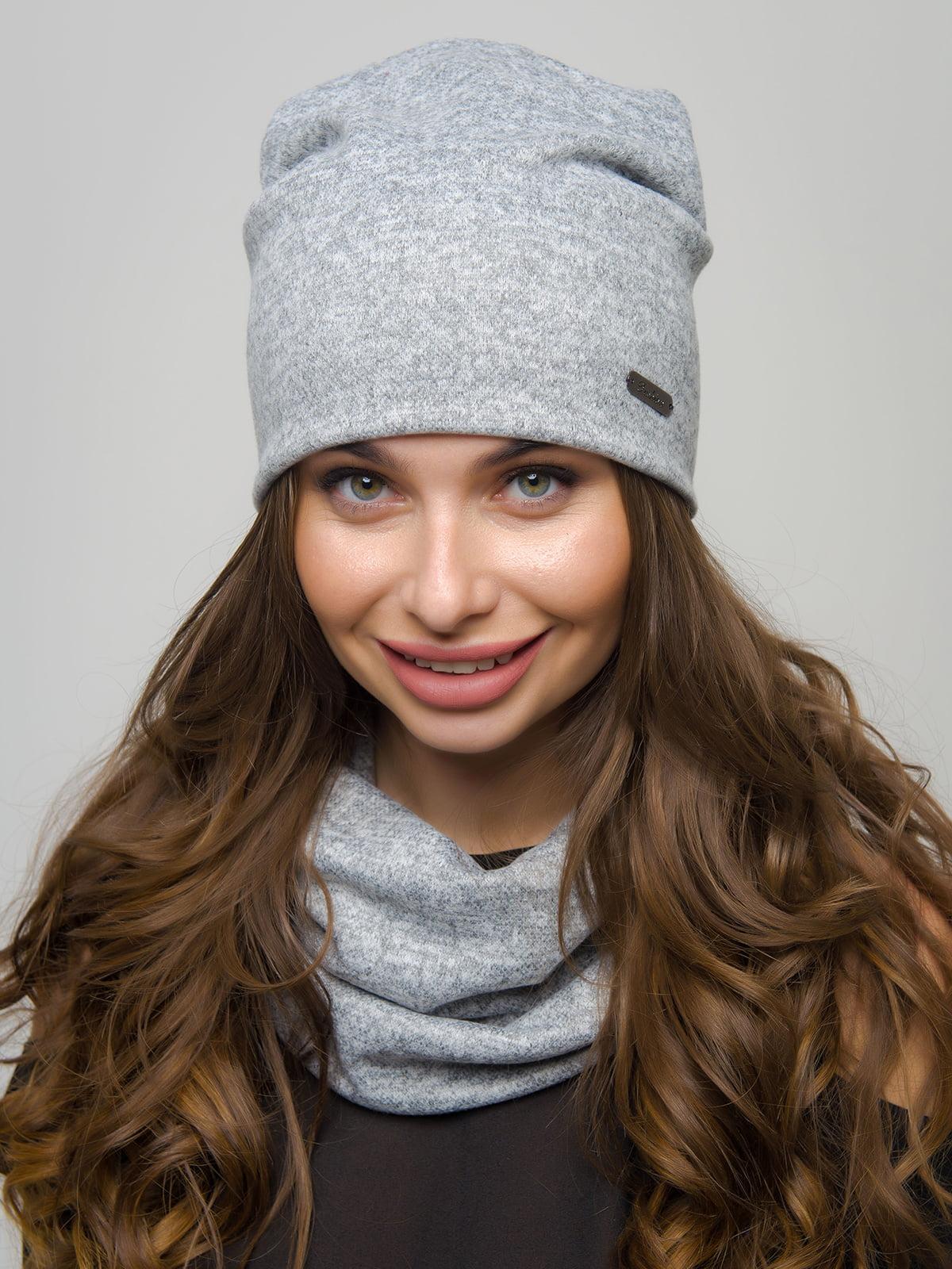 Комплект: шапка та шарф-хомут | 4772850