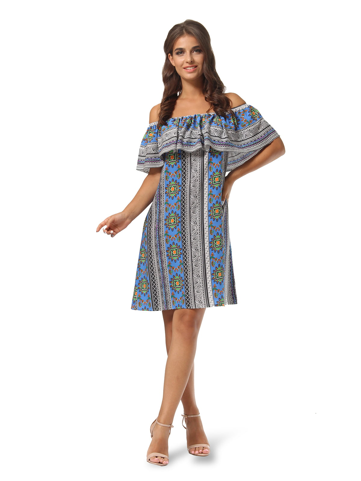 Платье в принт | 4767857