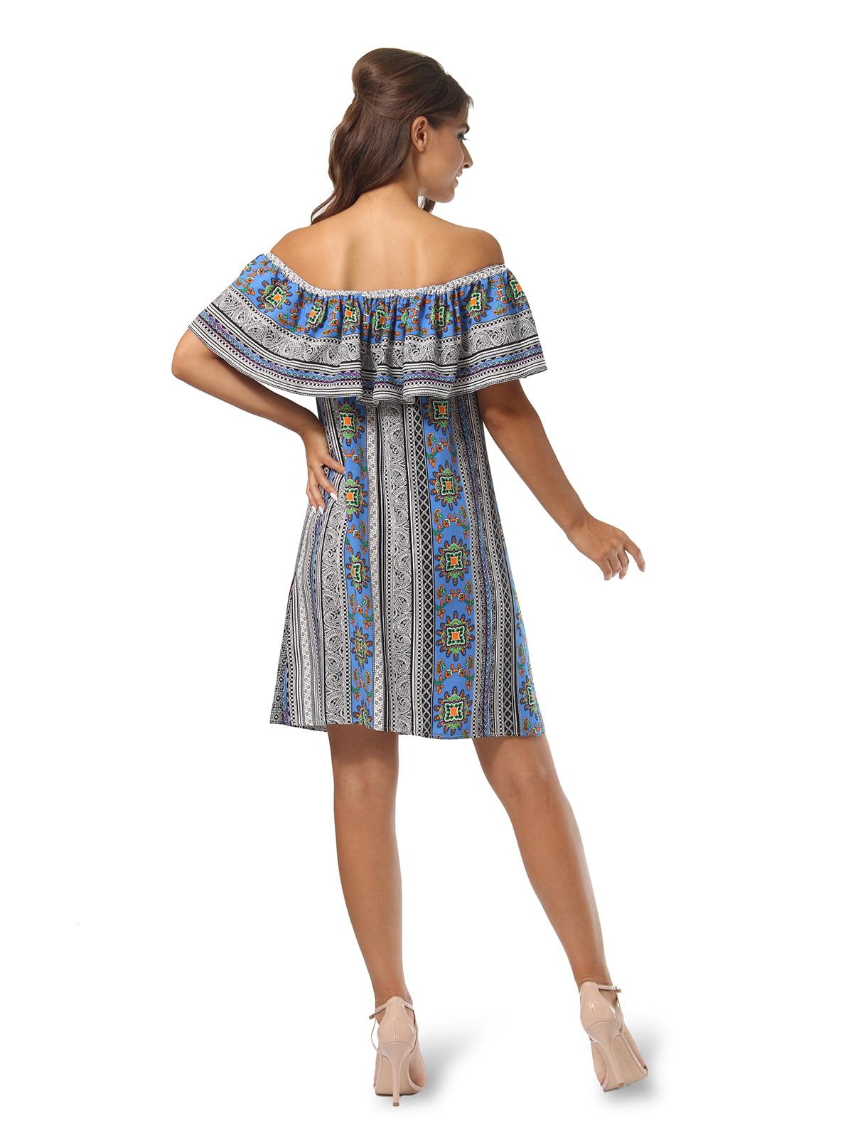 Платье в принт | 4767857 | фото 2