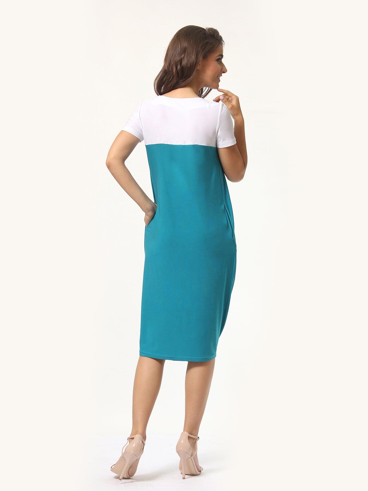 Платье двухцветное | 4771611 | фото 2