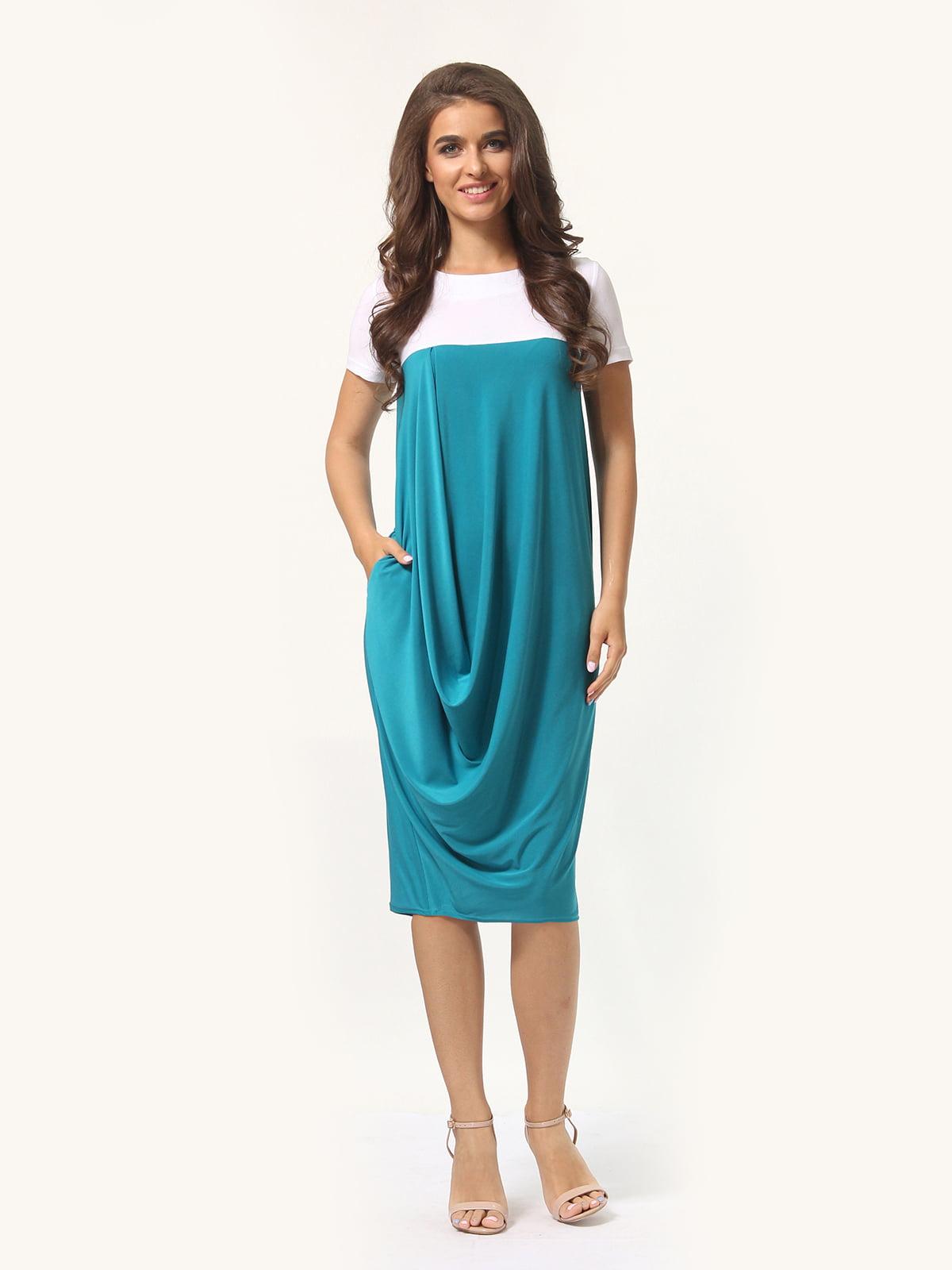 Платье двухцветное | 4771611
