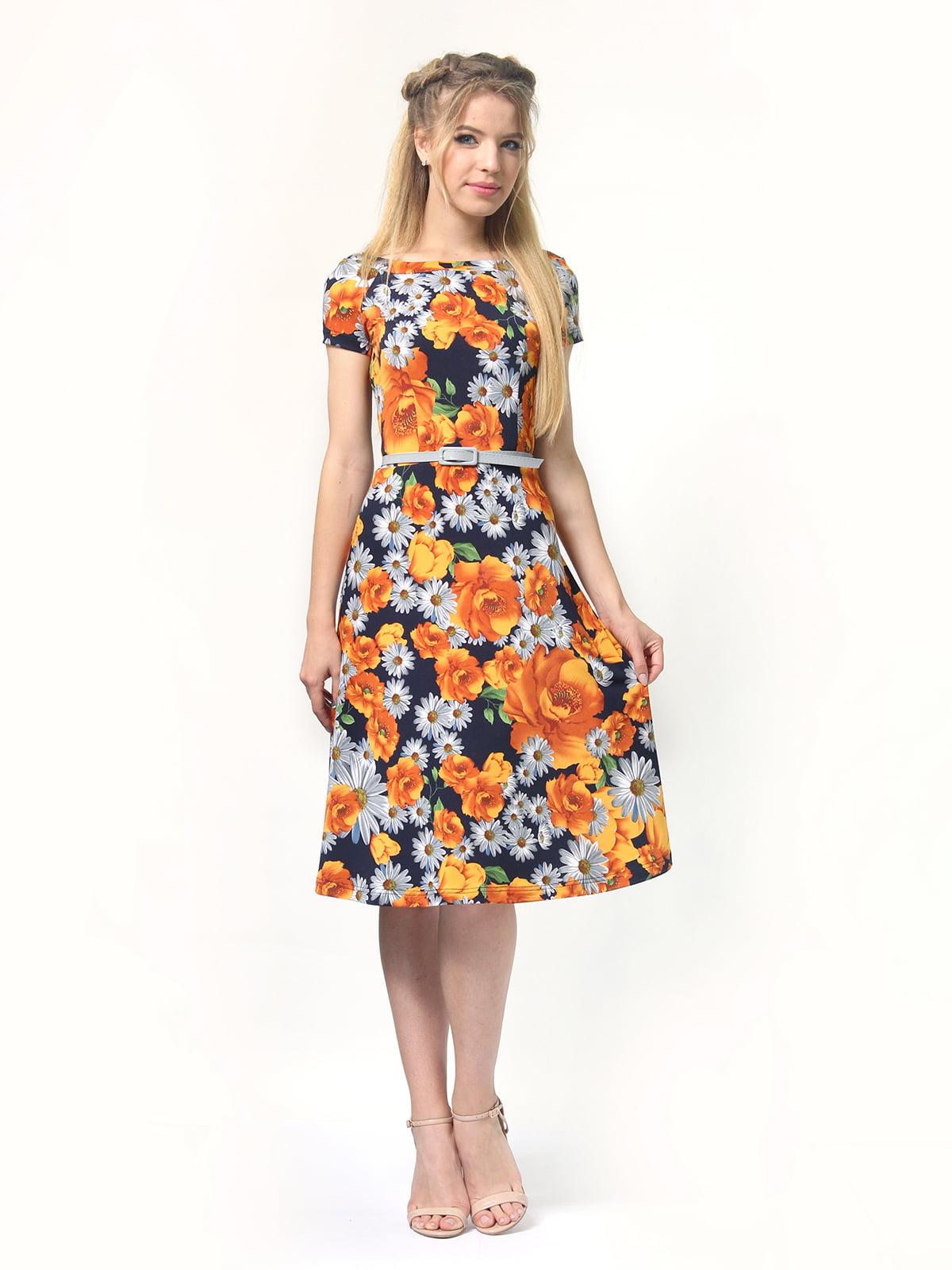 Сукня з квітковим принтом | 4771634