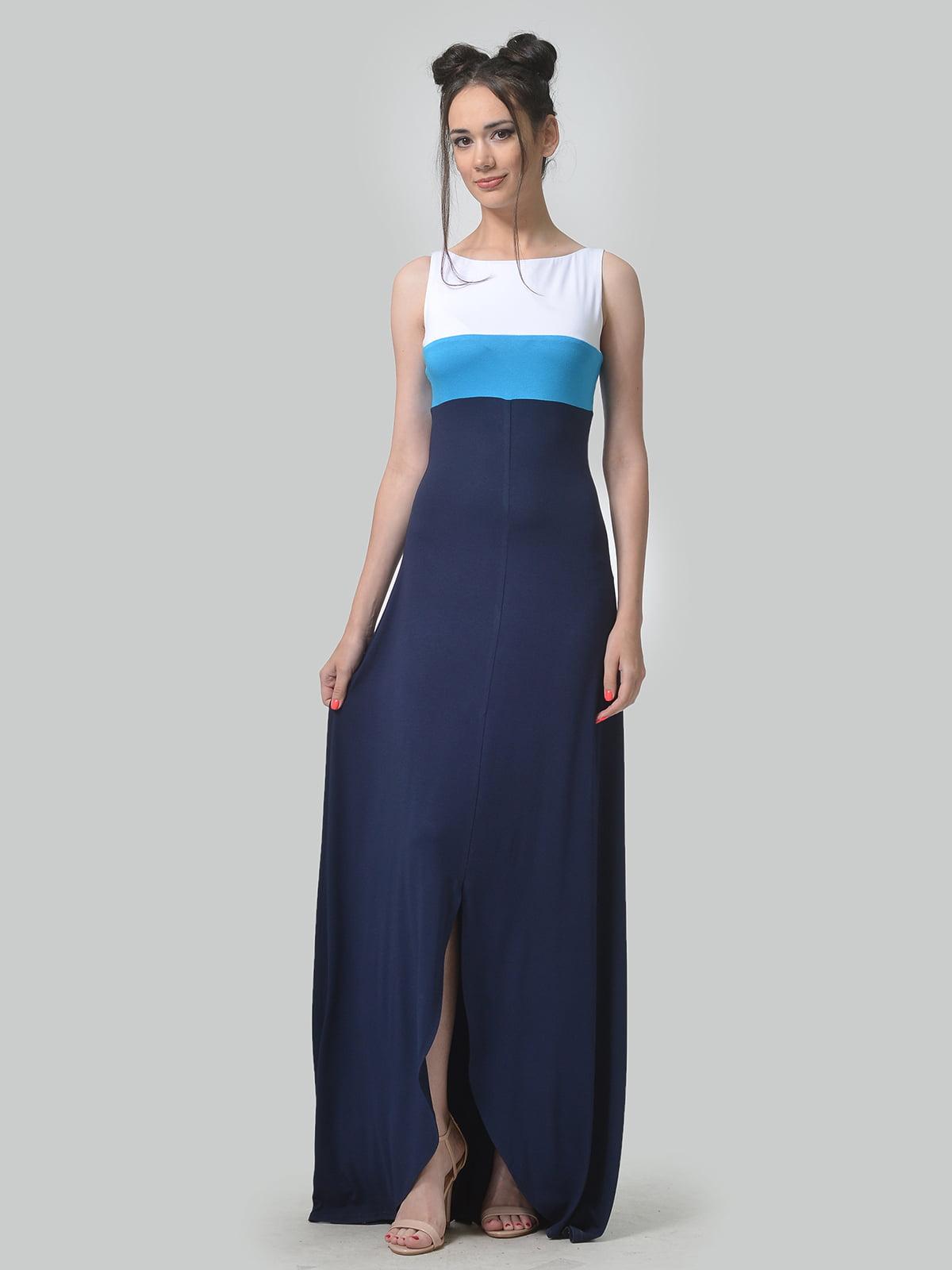 Платье трехцветное | 4767829 | фото 2