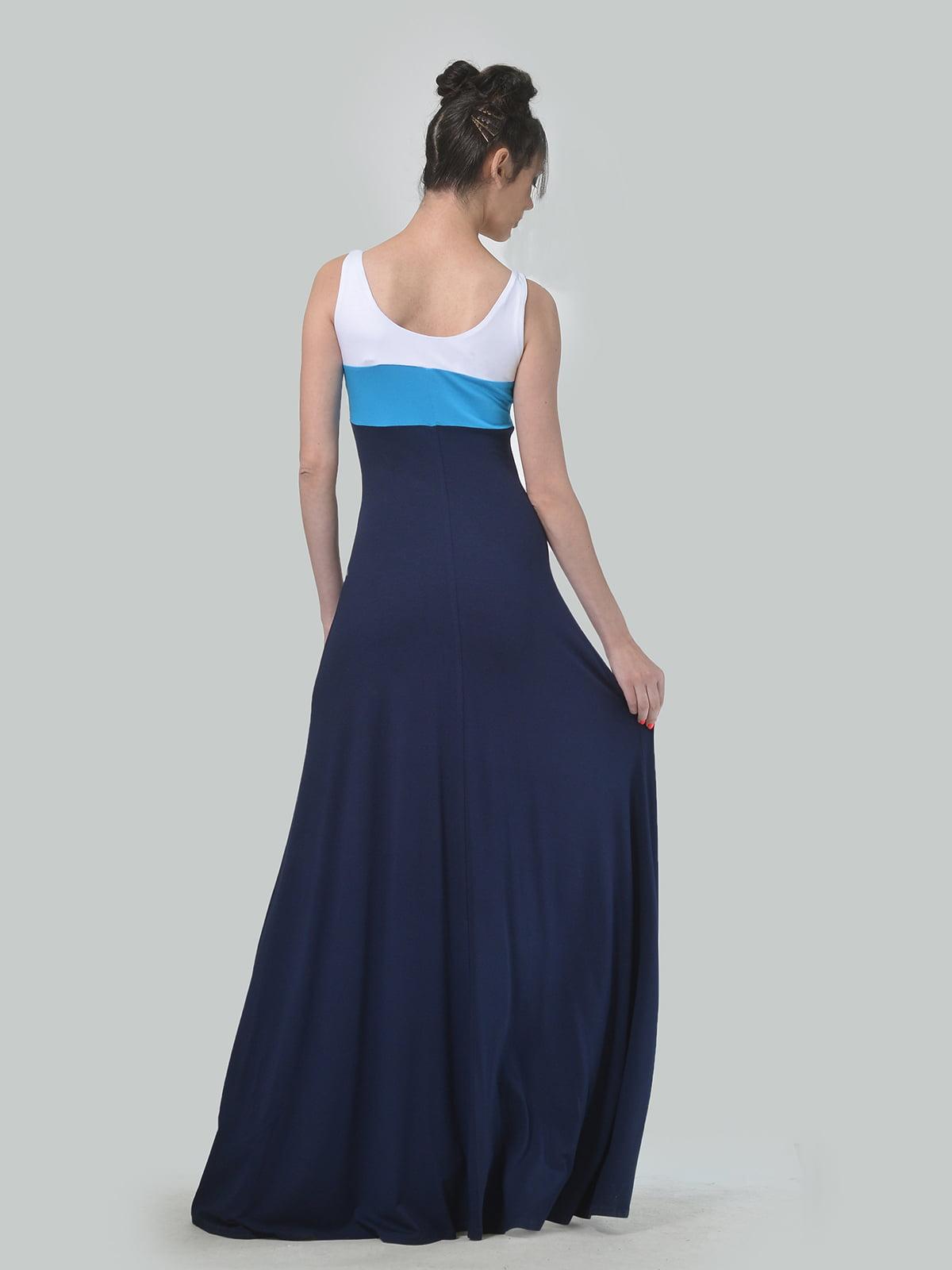 Платье трехцветное | 4767829 | фото 3