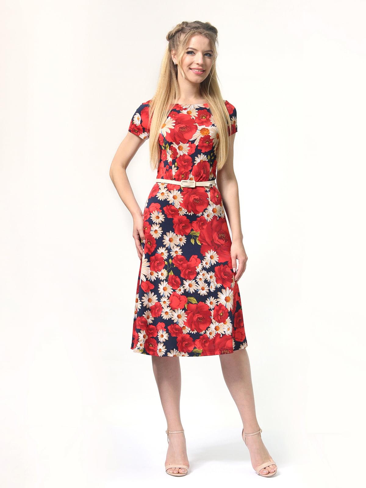 Сукня з квітковим принтом | 4771633