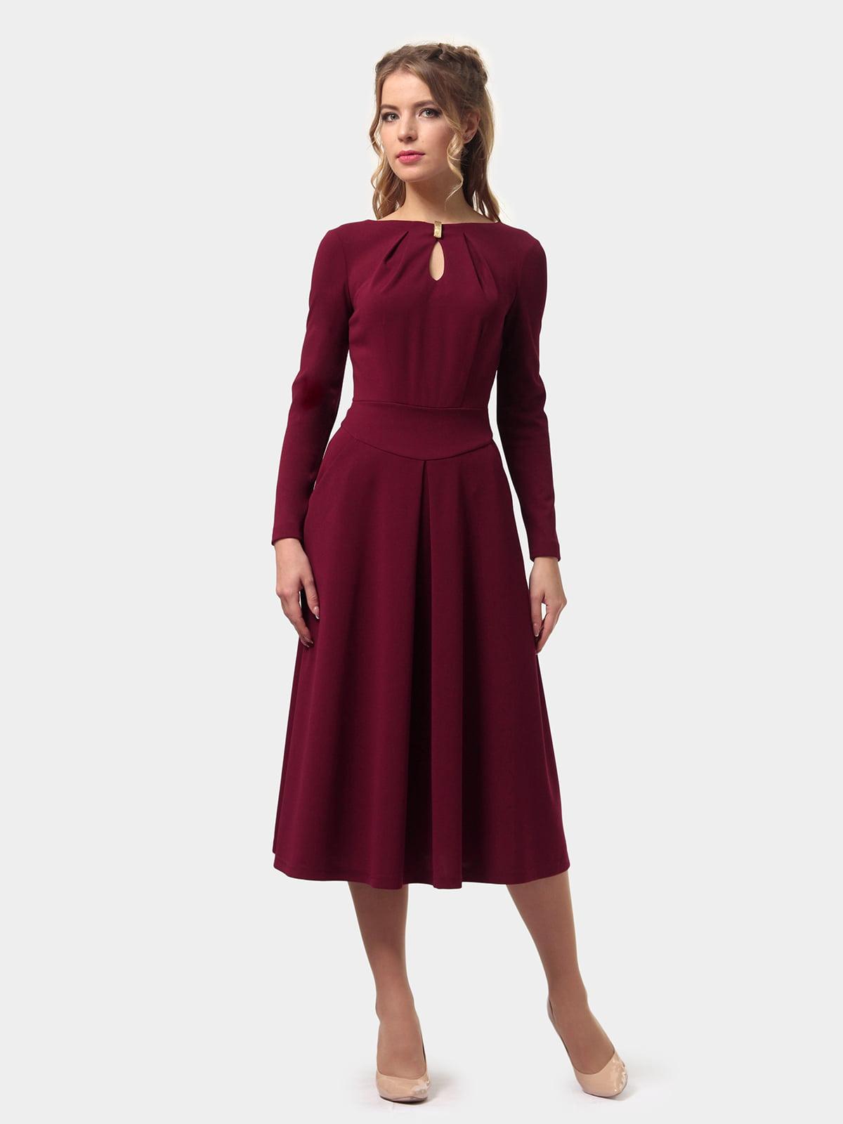Платье бордовое   4775670   фото 4