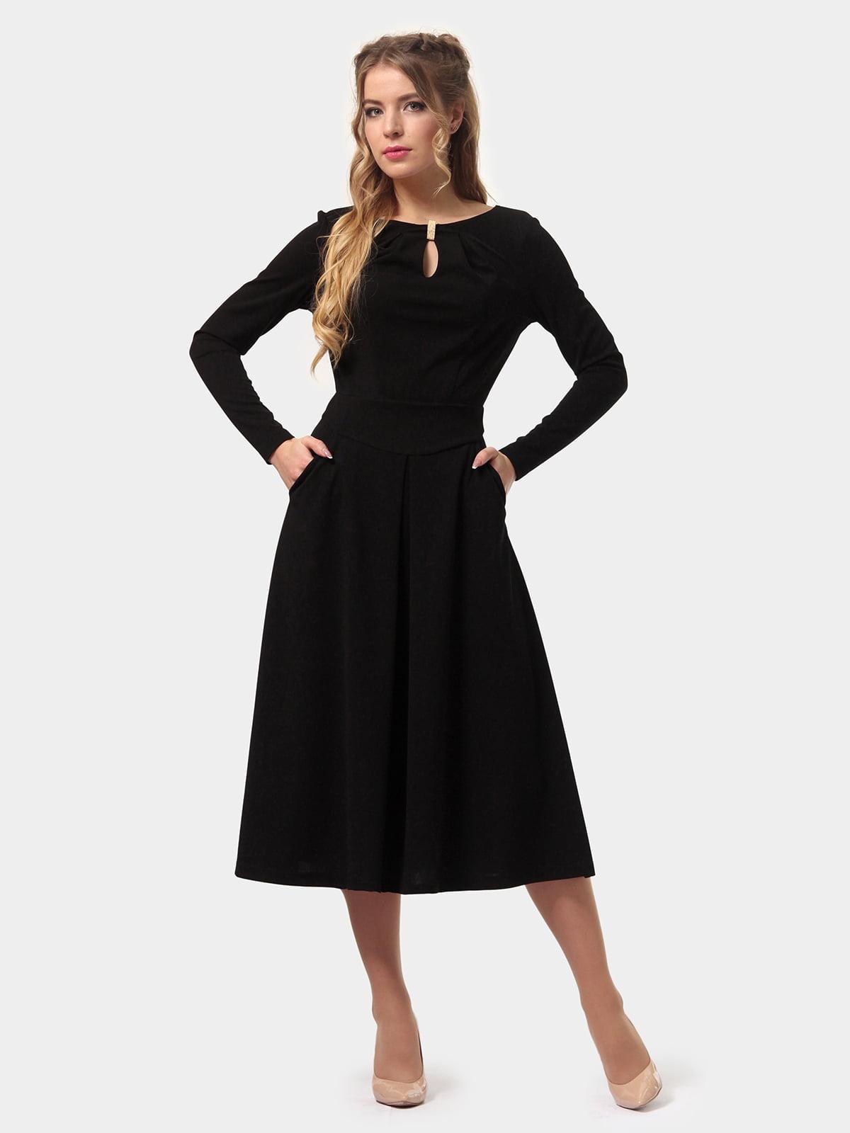 Платье черное | 4775674 | фото 2