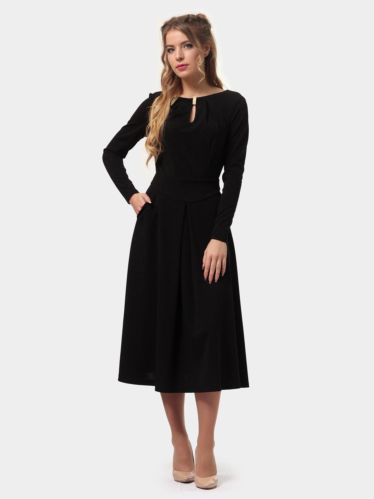 Платье черное | 4775674 | фото 3