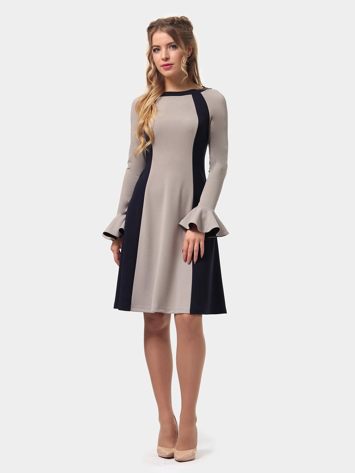 Платье двухцветное | 4775677