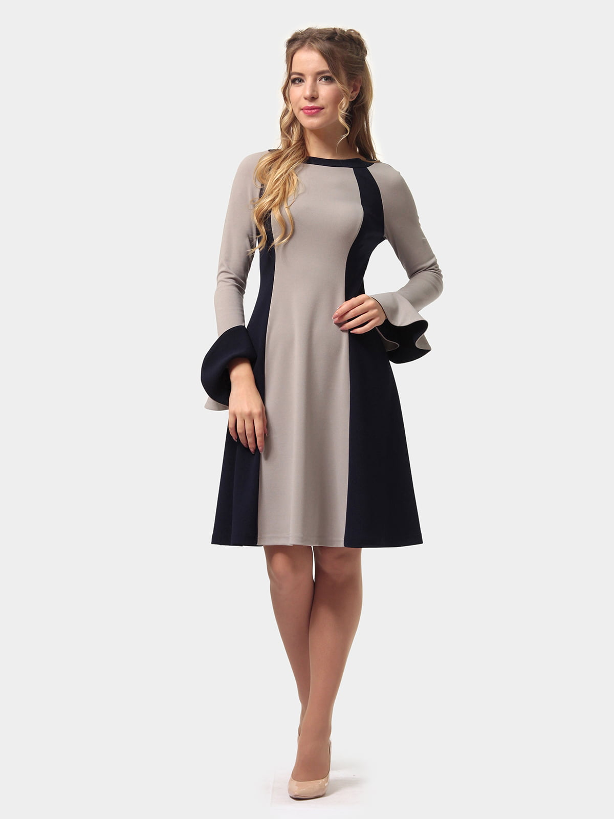 Платье двухцветное | 4775677 | фото 2
