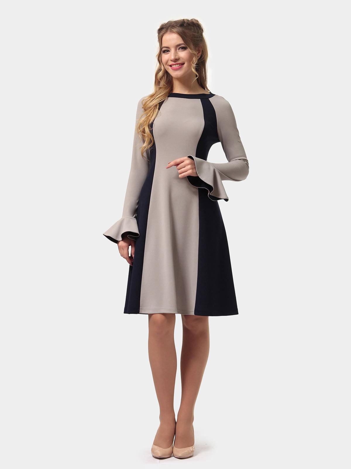 Платье двухцветное | 4775677 | фото 3