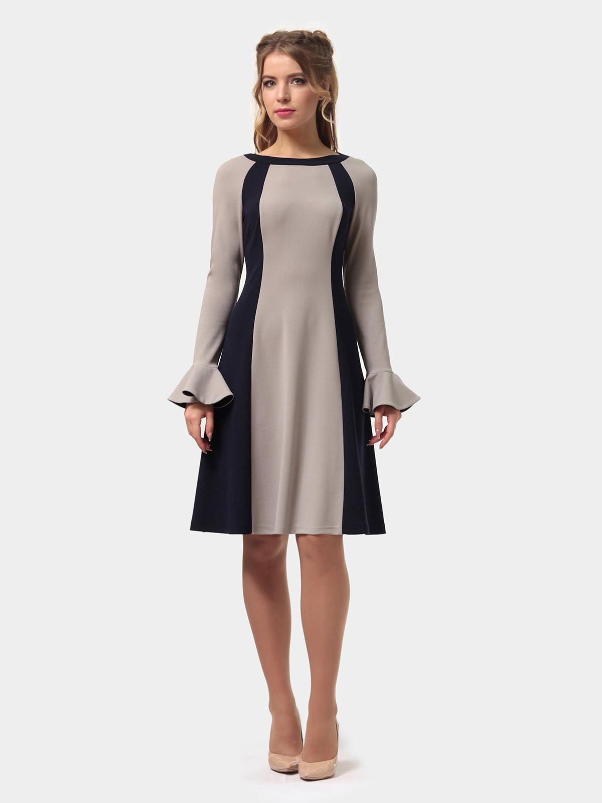 Платье двухцветное | 4775677 | фото 4