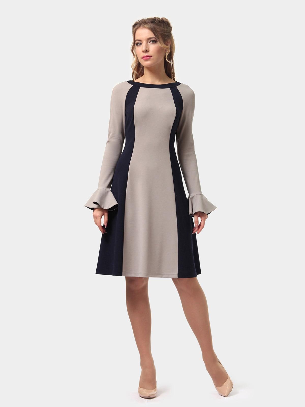 Платье двухцветное | 4775677 | фото 5