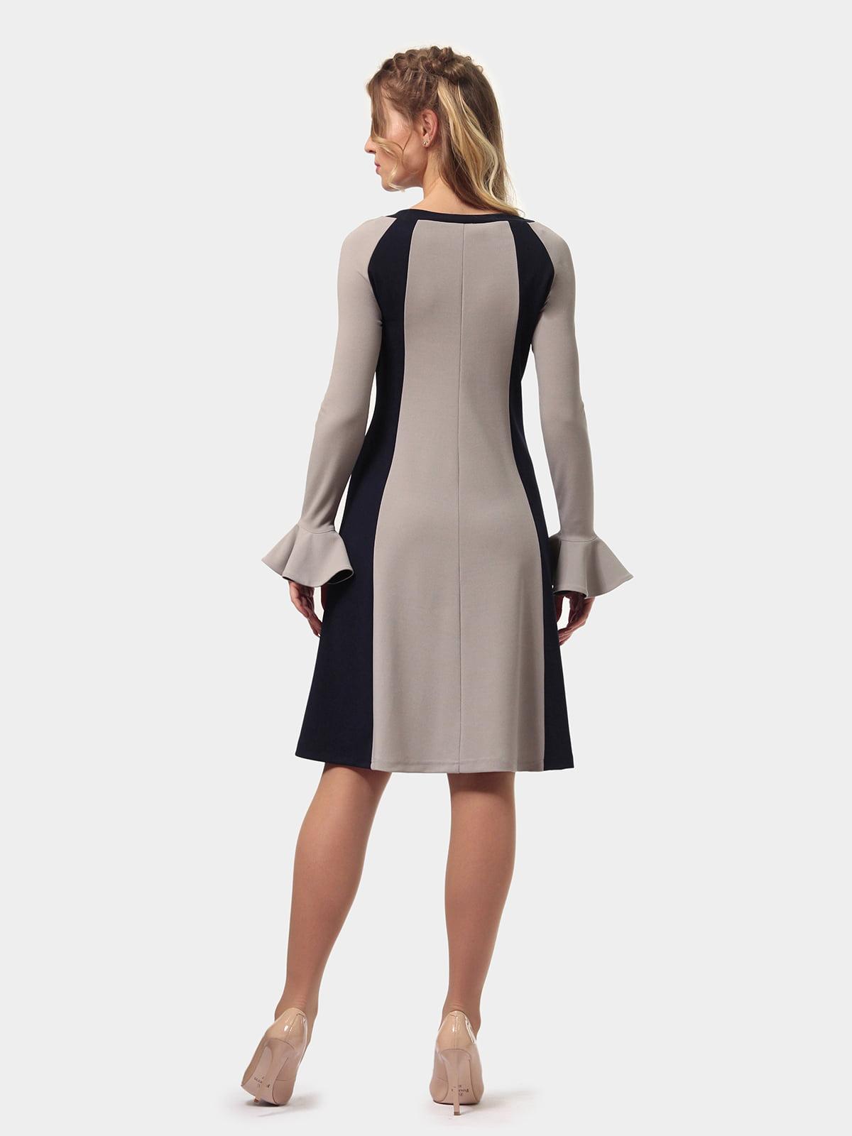 Платье двухцветное | 4775677 | фото 6