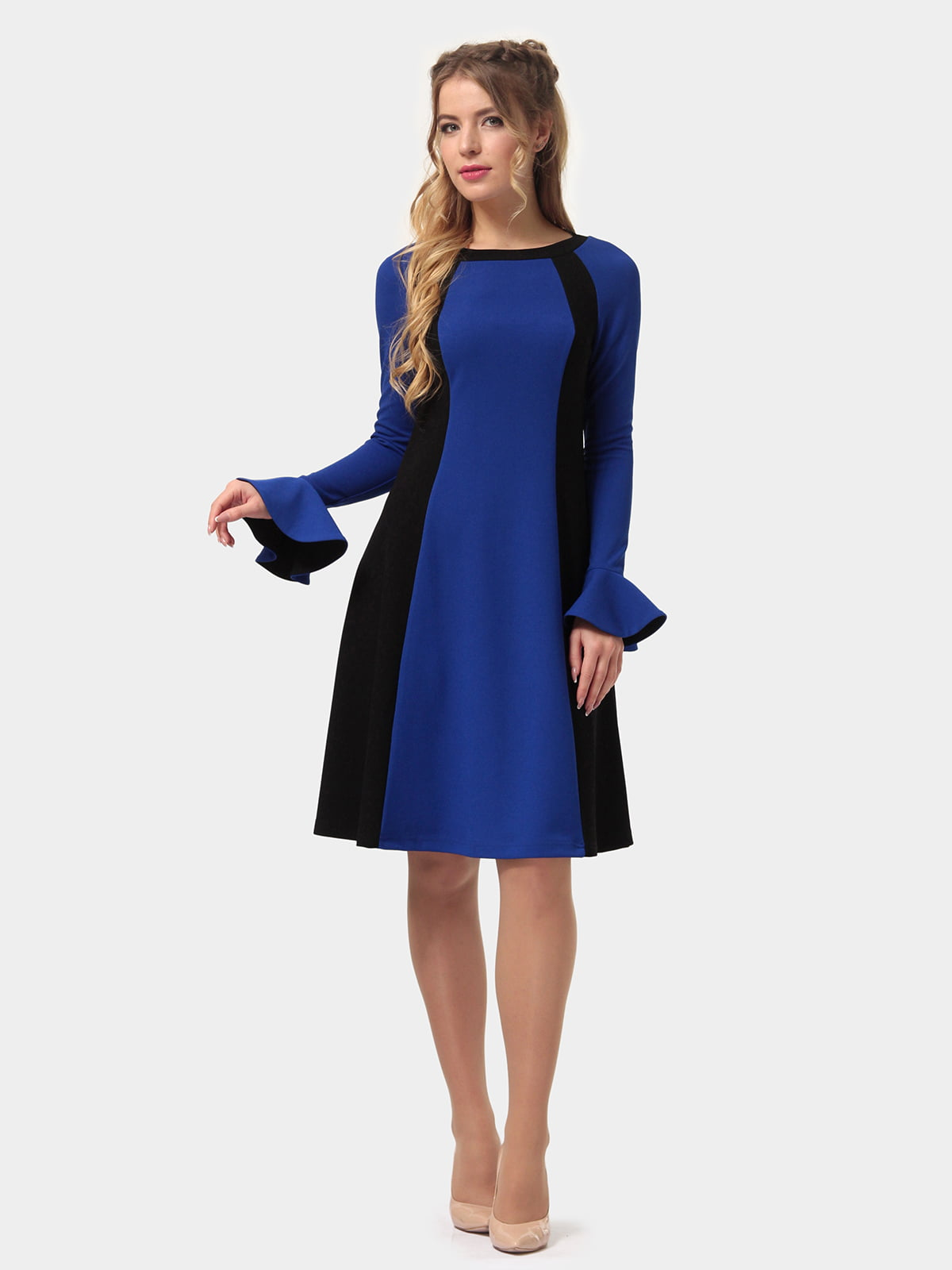 Сукня двоколірна | 4775679