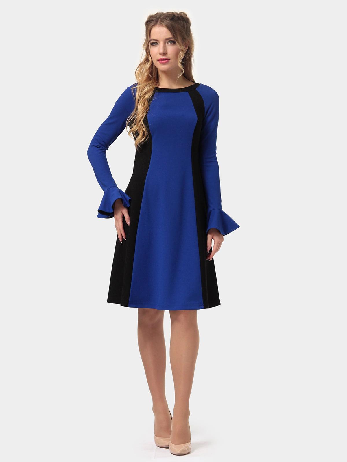 Платье двухцветное | 4775679 | фото 2