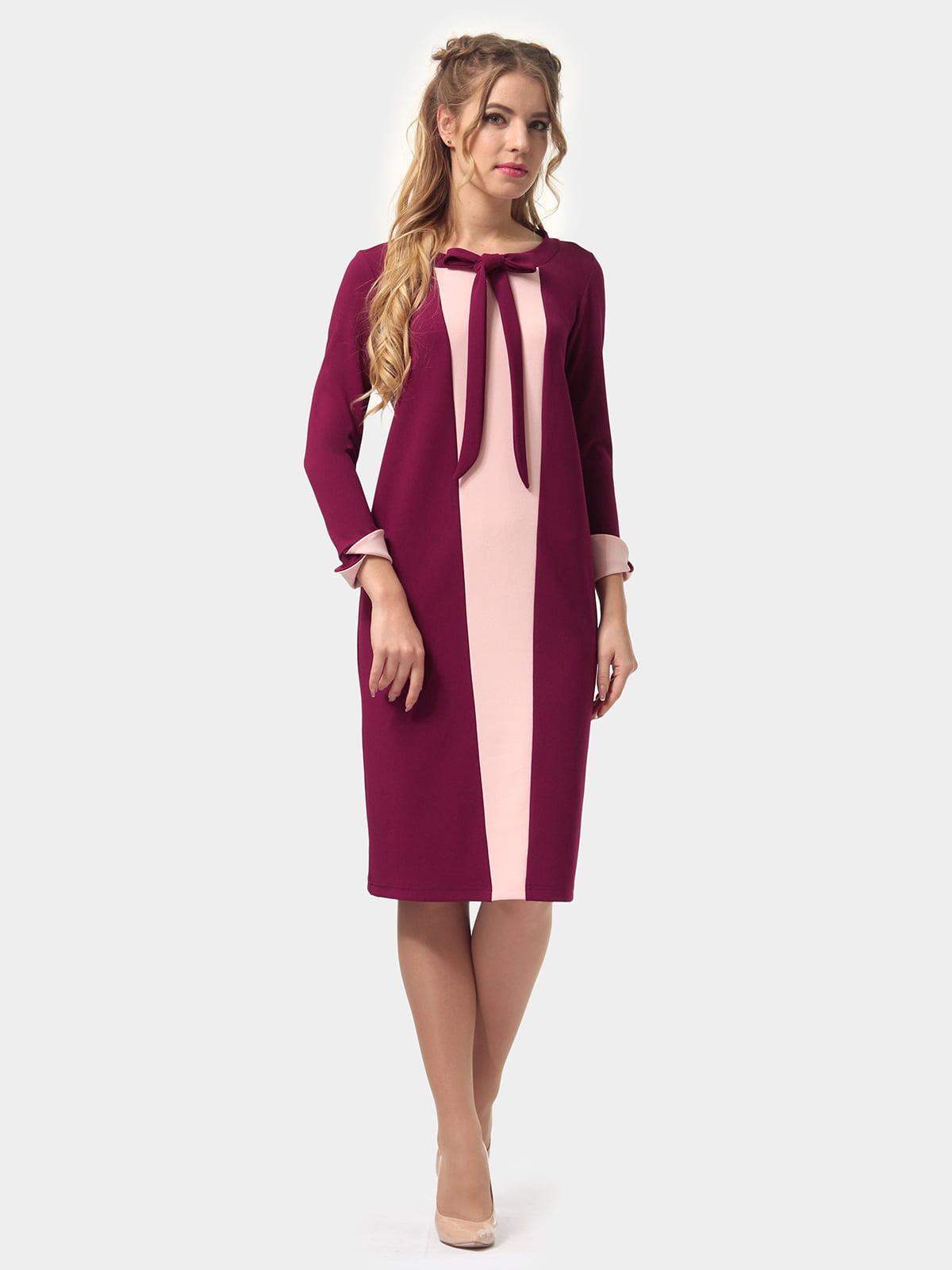 Платье двухцветное | 4775681