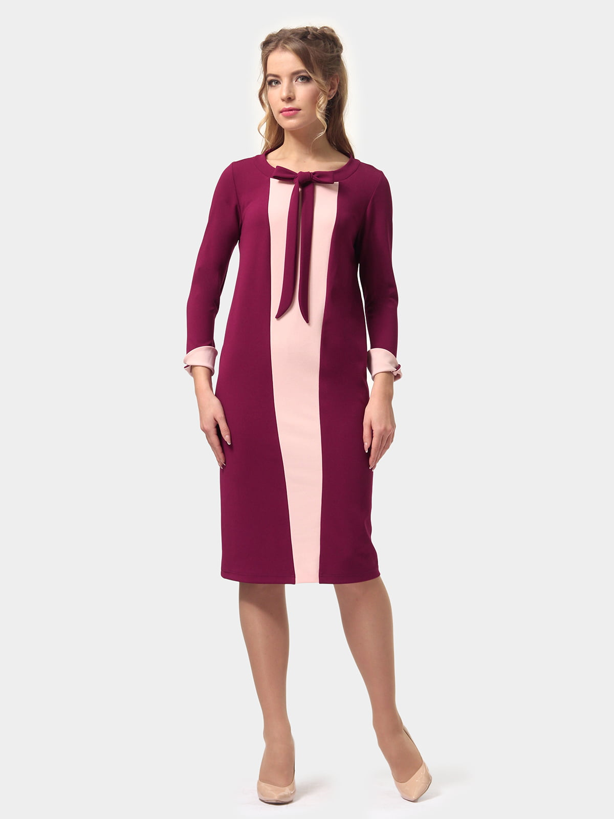 Платье двухцветное | 4775681 | фото 4