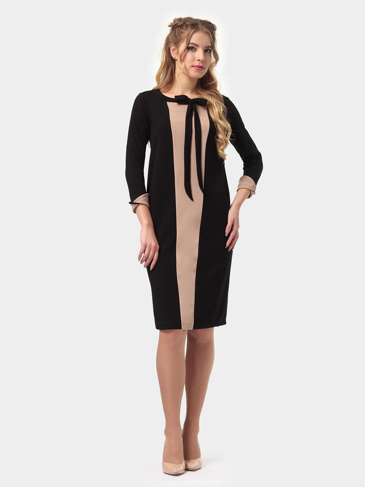 Платье двухцветное | 4775684