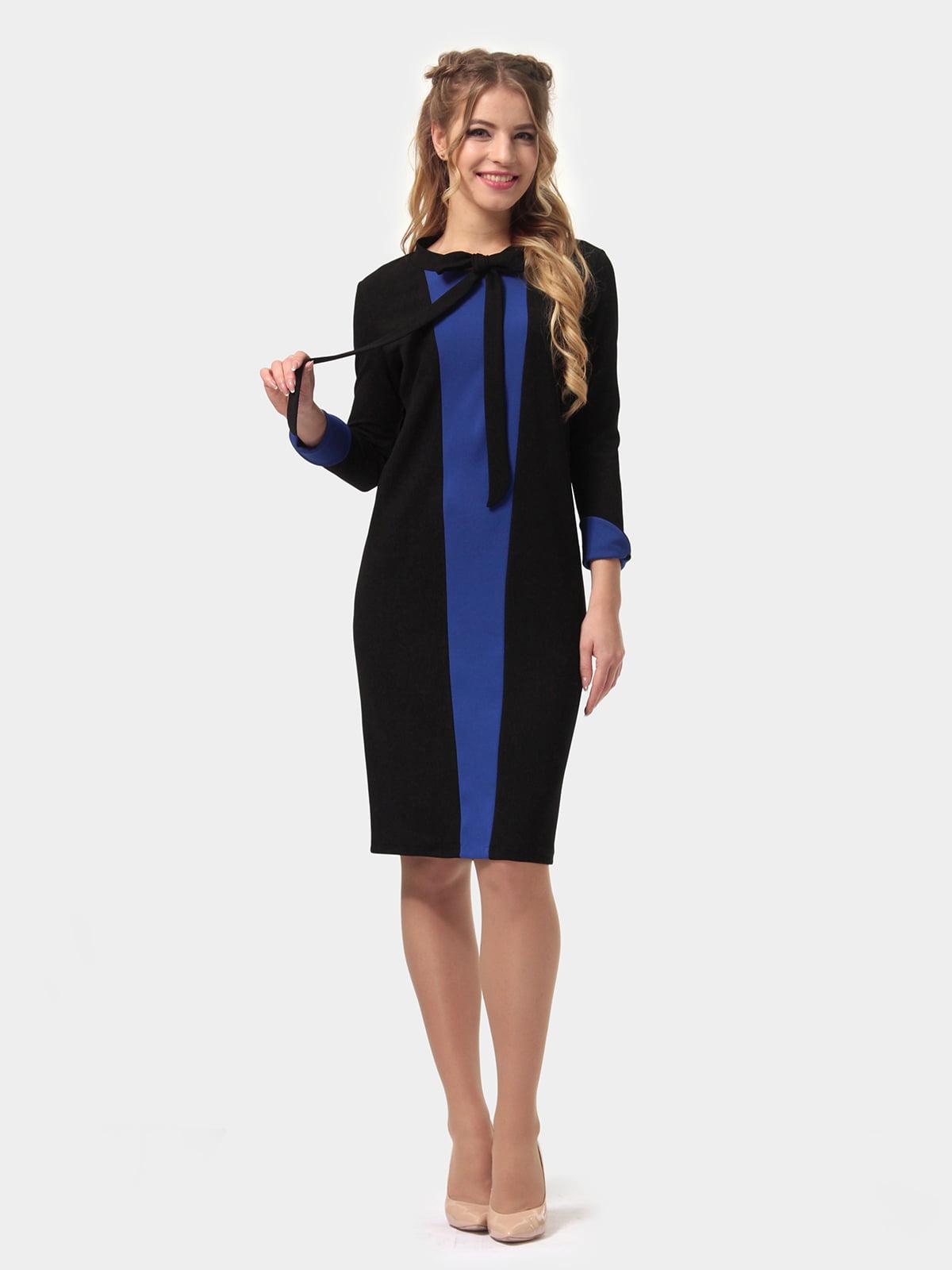 Платье двухцветное   4775685