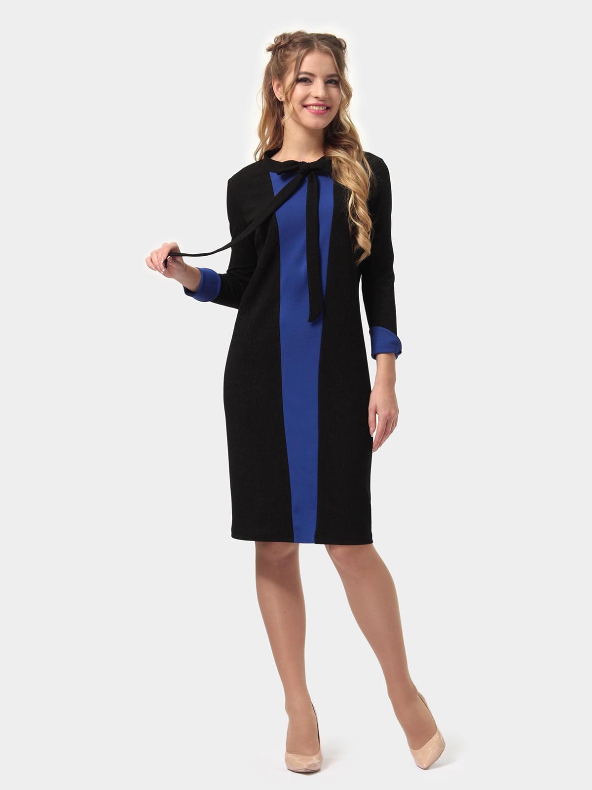 Платье двухцветное   4775685   фото 3