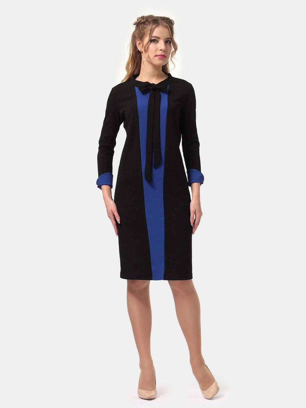 Платье двухцветное   4775685   фото 4
