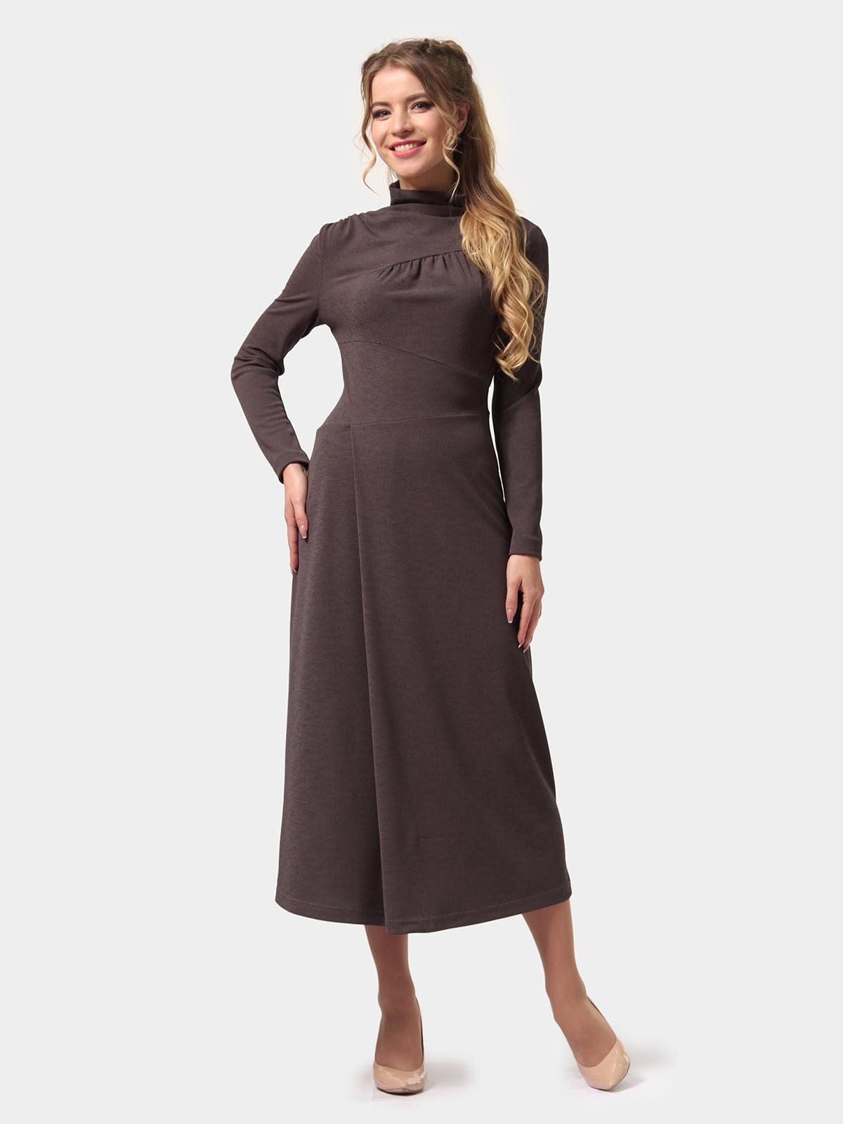 Платье графитового цвета | 4775700
