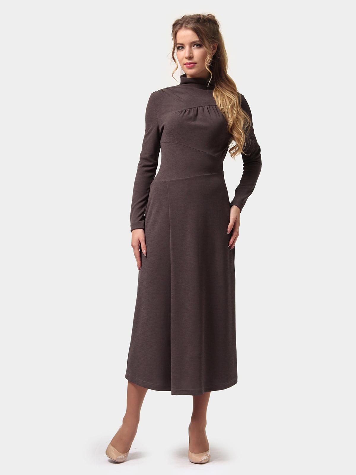 Платье графитового цвета | 4775700 | фото 2