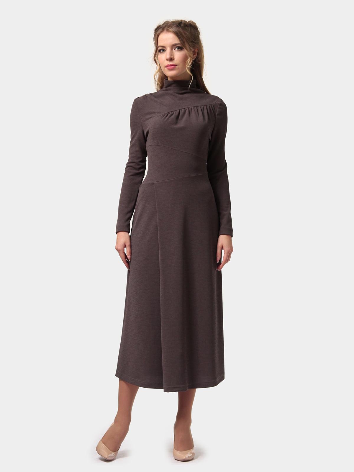 Платье графитового цвета | 4775700 | фото 4